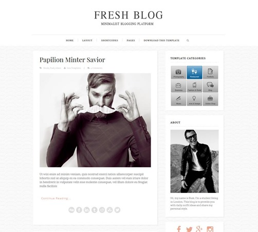fresh-blogger-template