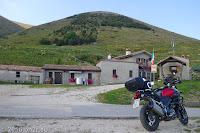 Am Monte Grappa (1745m), dem südlichen Abschluss der Dolomiten vor der venezianischen Ebene. Die Malga Budui.