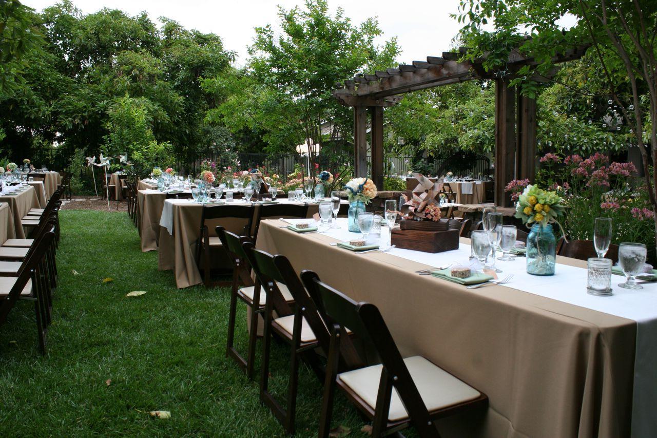 Backyard Weddings    Above All