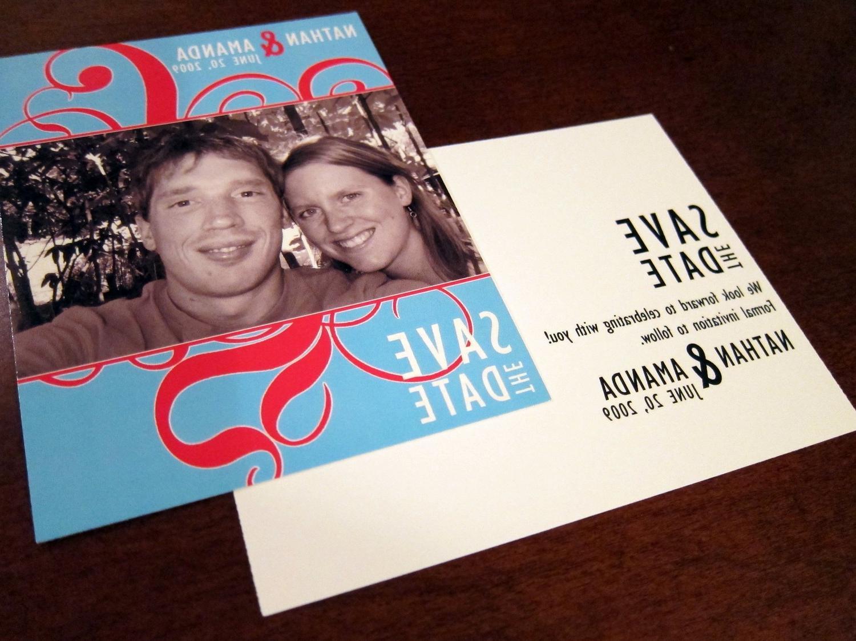 Wedding Invitation, Save the