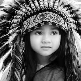 by Luna Almira  Ali - Black & White Portraits & People (  )