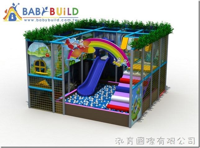 BabyBuild 3D泡棉鋼管遊戲器材