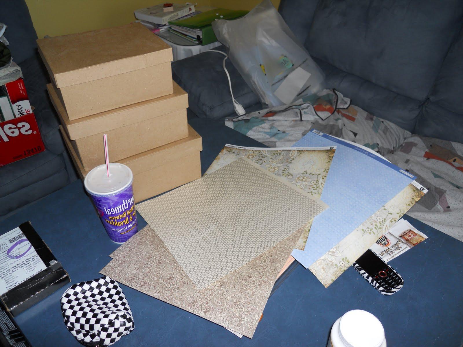 DIYing: Card Box Style