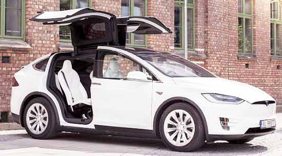 Tesla Model X like Ferrari on British roads now