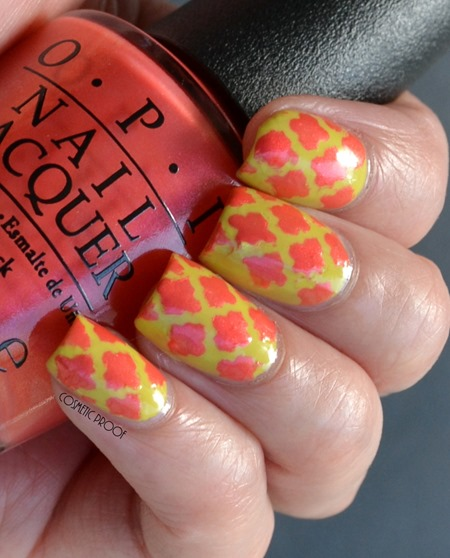 OPI Brights Life Game Me Lemons and Down to the Core-al Review (4)