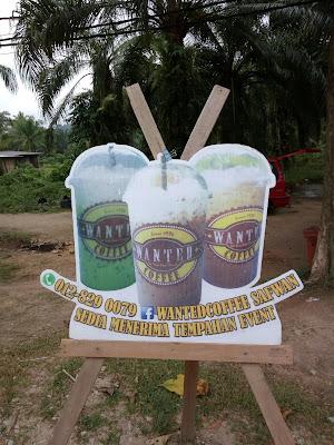 Wanted Coffee di Jalan Padang Tembak, Lumut Perak.