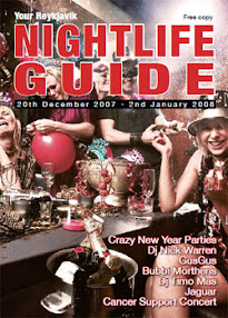 Cover of Joy Of Life's Book Your Reykjavik Nightlife Free Guide 2