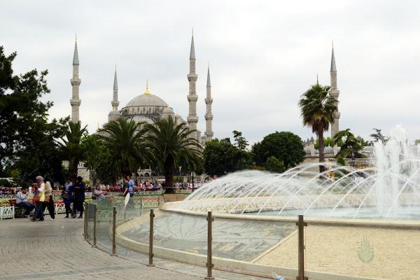 мечеть фонтан стамбул