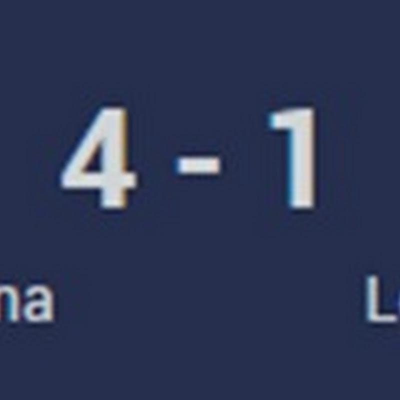 Barça 4–Levante 1 . Intrascendente partido