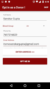 BloodGency | Blood Emergency - screenshot
