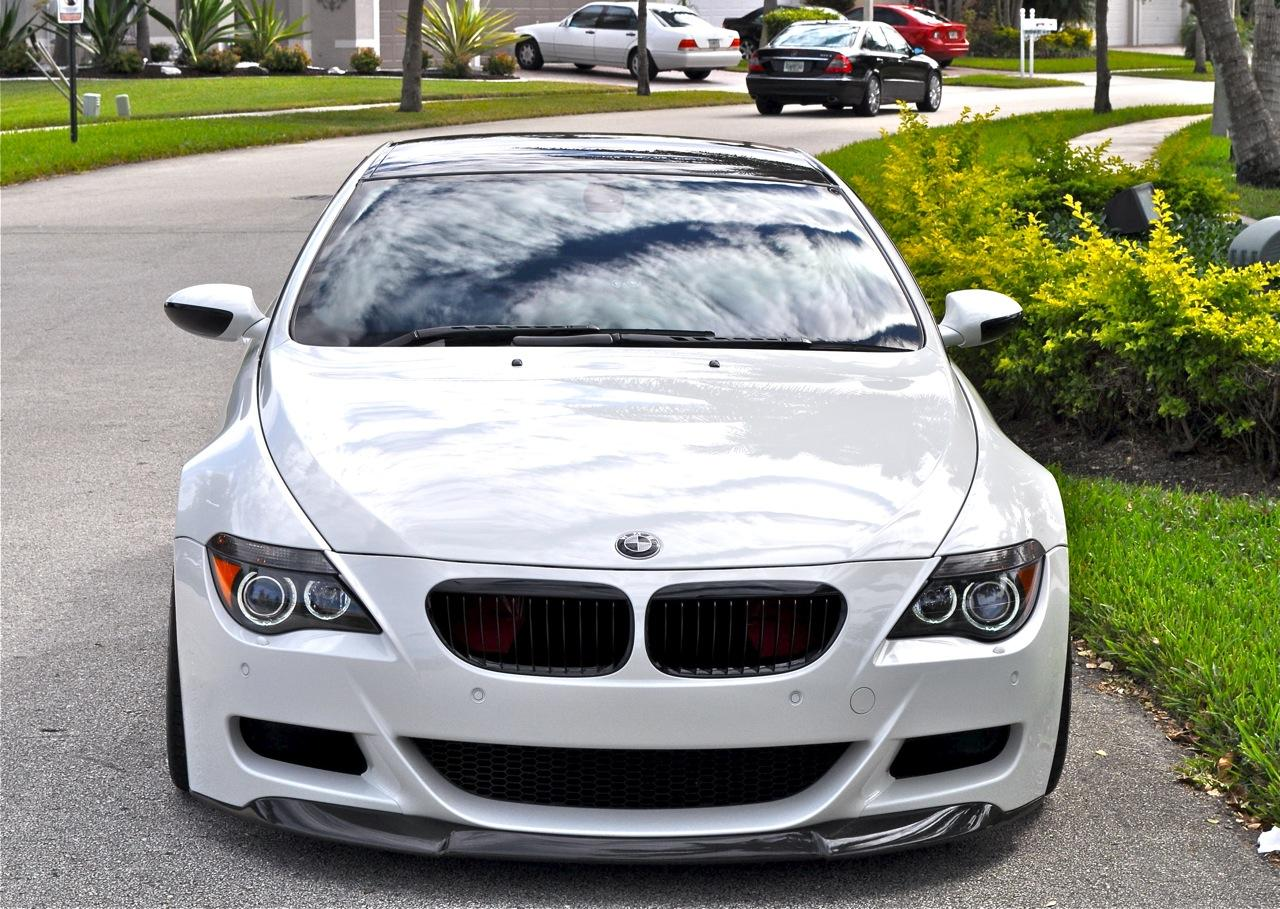of his BMW M6 Convertible