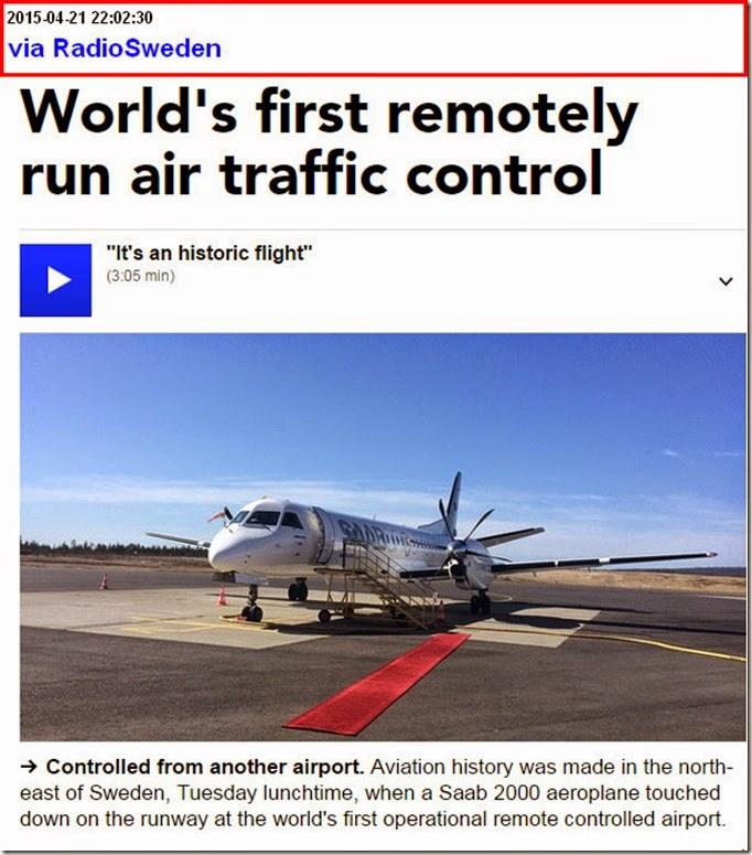 sweden auto airtraffic