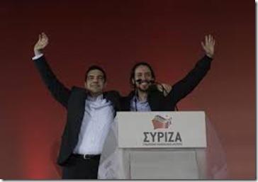 Syriza y Podemos escarga (1)