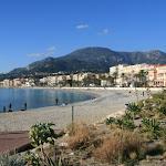 Baie du soleil : plage et le front de mer