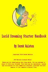 Cover of Derek Ralston's Book Lucid Dreaming Starter Handbook