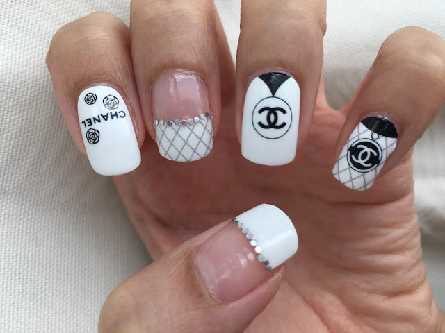Chanel Nail Art Nail Wraps D1006 Chichicho