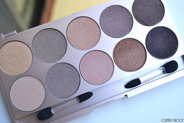Lise Watier Rivages Eyeshadow Palette Swatches Review