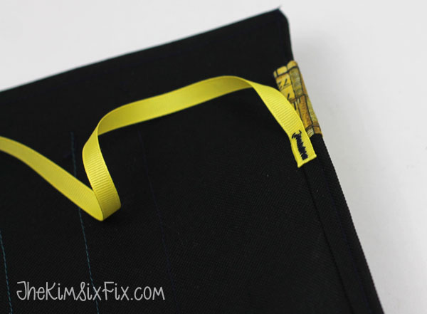 Sew on ribbon tie