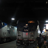 The Amtrak train we rode from Champaign to Chicago 01142012b