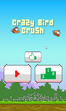 Crazy Bird Crush apk screenshot