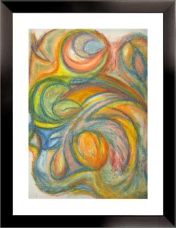Life: Tears (oil pastels, 1998)