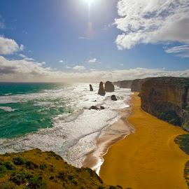 12 Apostles,Great Ocean Road by Stanley P. - Landscapes Travel ( travel, landscapes )
