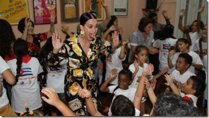 Katy Perry en Cuba