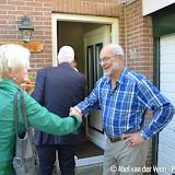 Evert Wesseling uit Nieuwe Pekela in 't zonnetje door gemeente - Foto's Abel van der Veen