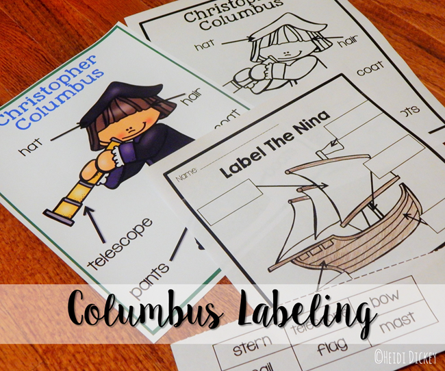 Columbus Differentiated Labeling