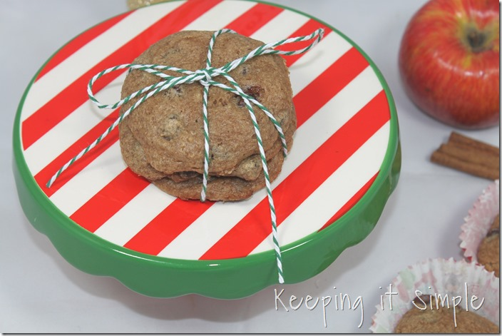 #ad 4-Ingredient-apple-cinnamon-cookies-recipe #HolidayWithGlade (6)