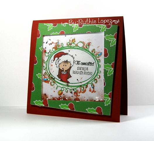 Garabattas - Navidad - Papeles - Tarjeeta de Navidad - Ruthie Lopez 2