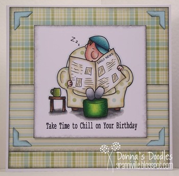 Donna - keep calm & chill out