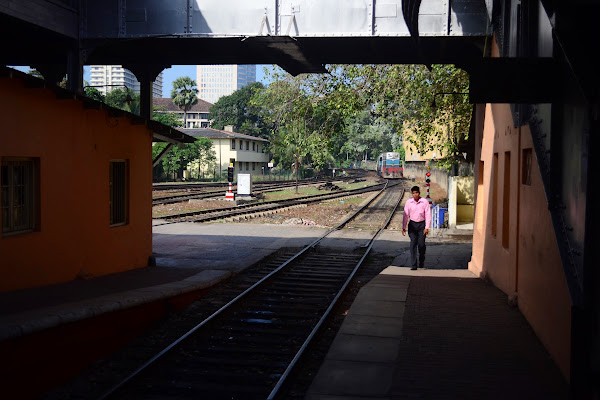 ЖД станция Коломбо Форт, Шри Ланка
