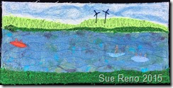 Sue Reno, 52 Ways to Look at the River, Week 9 Panel