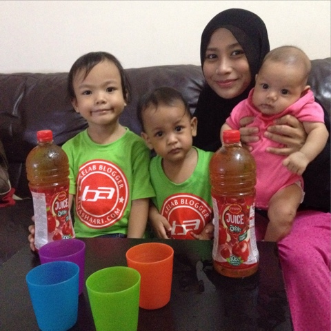 Puasa & Iftar Ramadhan 2015 / 1436 H bersama Jus Epal Pran