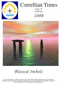 Cover of Correllian Times Emagazine's Book Issue 18 February 2008 Blessed Imbolc