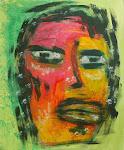 Portrait - Acryl auf Papier, ca. 70 x 50 cm