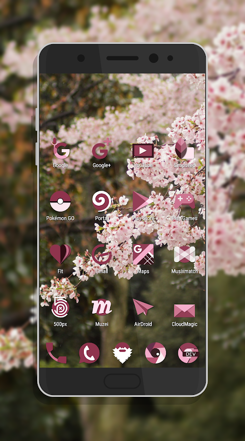 Sakura Icon Pack Screenshot 4
