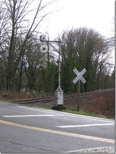 IMG_0692 Magnetic Flagman (Wig-Wag) Signal at Berlin Road in Lebanon, Oregon on January 18, 2006