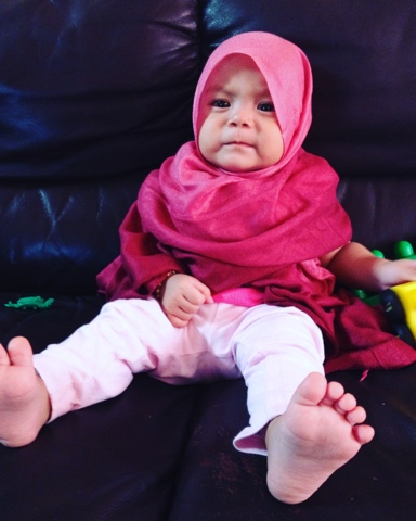 baby amal pakai shawl
