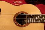 Marcello Masellani, luthier, guitarras maravillosas reflejo de un maestro luthier con un espíritu, ilsuión y conocimiento, enormes.