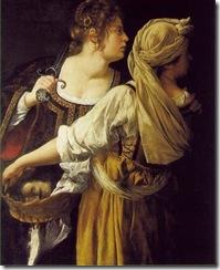 1612 Artemisia Gentilesch-i (1593-1653), Judith with her Servant
