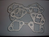 Manifold gaskets, NEVER use on stock manifolds, you will crack them. 1957-66 12.00