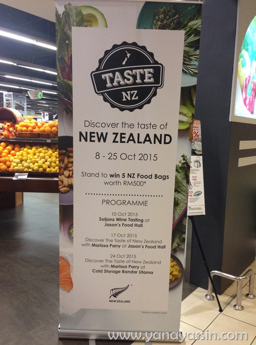 "Taste Of New Zealand"" di Cold Storage"