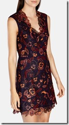 Karen Millen embroidered floral lace dress