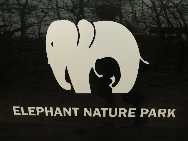 Elephant Nature Park's clever logo.