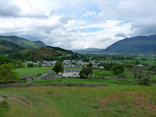 Looking back to Braithwaite ... this was the last good photo of the day