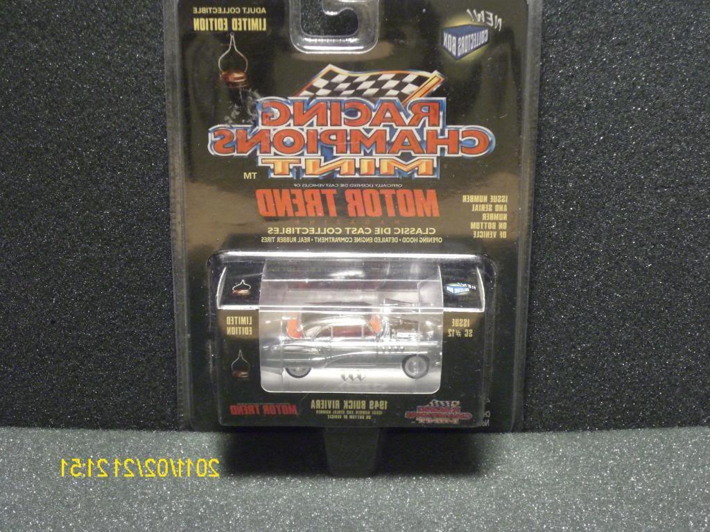 8 1969 GTO Judge CHROME CHASE car - some light bub crush underneath