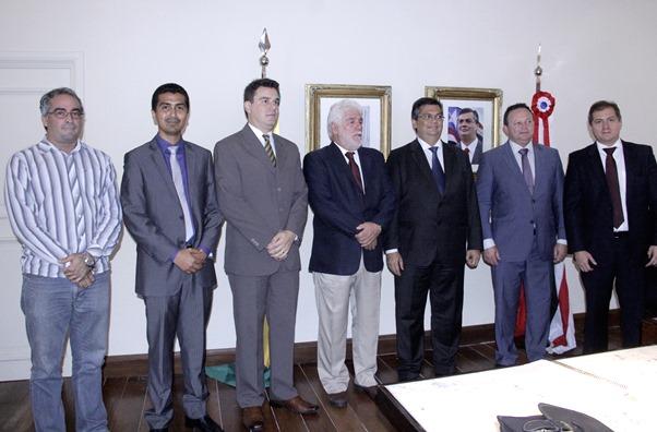 Foto1_NaelReis - Governo recebe empresários do ramo da siderurgia