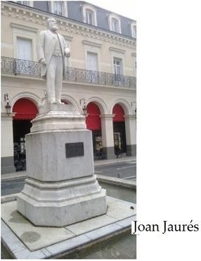 Joan Jaurès estatua